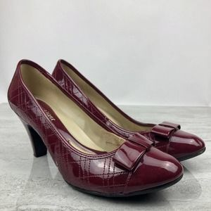 🌵Naturalizer N5 Comfort Red Patent Leather Heels